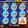 オンラインカジノ・ビデオスロット、勝ちやすいと評判の、『Wolf Gold』